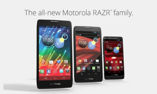 Motorola Unveils Droid Razr HD alongside Droid Razr Maxx HD and Droid Razr M