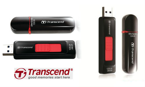 Transcend releases 128GB JetFlash 760, 600 Flash Drives With High Speeds