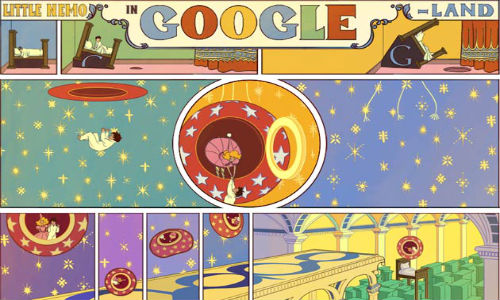 Google Doodle Celebrates 107th Anniversary of Winsor McCay's Little Nemo in Slumberland: Top 5 Animated Google Doodles So Far?