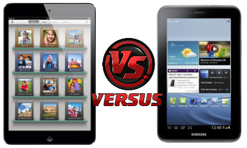 Apple iPad Mini vs Samsung Galaxy Tab 2 P3100: Clash of the Mini Titans
