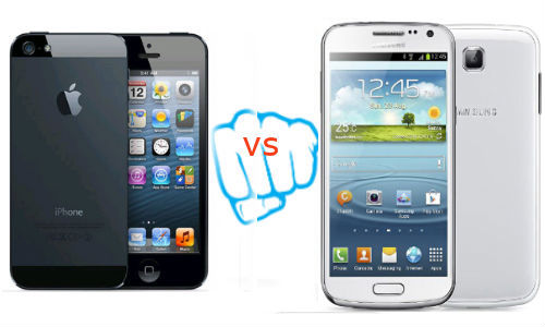iPhone 5 vs Galaxy Premier: Will You Buy the Apple's Biggie Or Wait For Samsung Next Smartphone to Reach India?