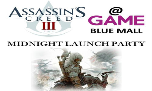 Assassin's Creed 3 Midnight Release Confirmed for India on October 30