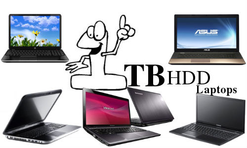 Top 5 Best Selling Laptops with 1TB HDD Storage Capacity in 2012