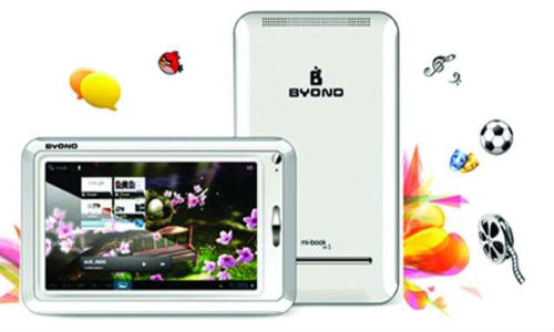 Byond Mi Book Android ICS Tablet Range Launched at Price Starting Rs 4,300: What about Competition?