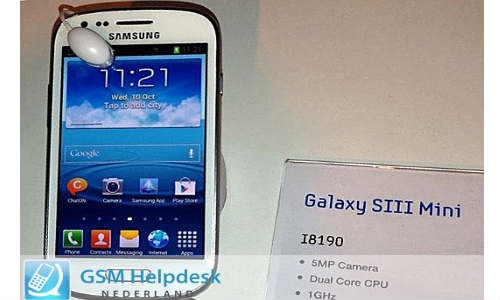 Galaxy S3 Mini Rumor Update: Full Specs Leak Ahead of Launch With Pictures