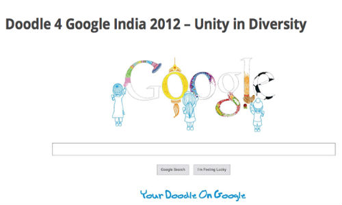 Google India: Doodle 4 2012 Competition Kick offs