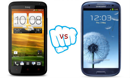 HTC One X+ vs Samsung Galaxy S3: Challenger vs Champion