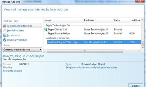 Potential Security Flaw: How to Disable Java in IE, Firefox, Chrome and Safari browsers?