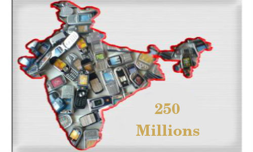 India Mobile Phones Sales to Cross 250 million by 2013, Gartner