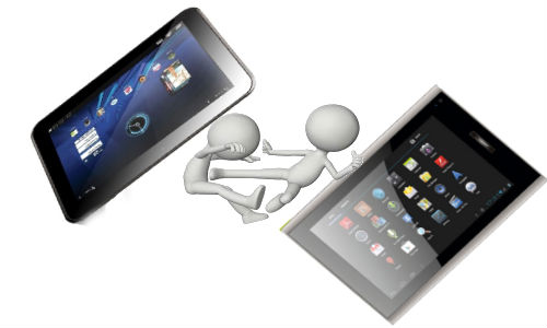 Karbonn Smart Tab 3 Blade vs Micromax Funbook Talk: Fight Between Newly Launched Budget Android ICS Tablets