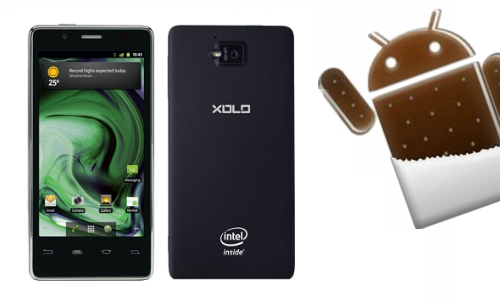 Android 4.0.4 ICS Update: Lava Xolo X900 Official Upgrade Starts Rolling Out from Today