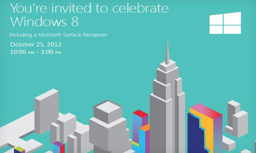 Microsoft to Release Surface Tablet On October 26 Alongside Windows 8