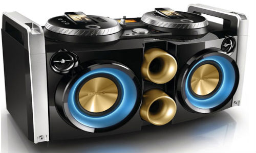 Philips Launches DJ Party Machine with Dual Rotatable Dock at Rs 34,990