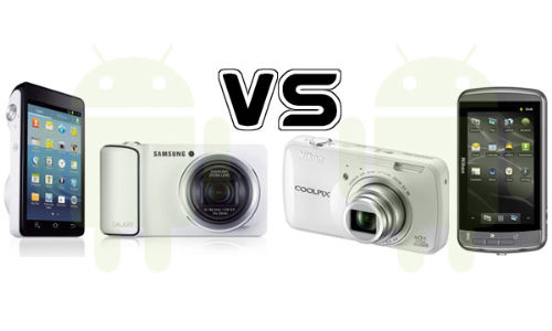 Samsung Galaxy Camera vs Nikon Coolpix s800c: The War of Android Camera Has Commenced