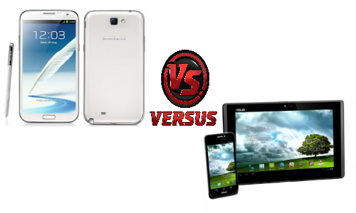 Samsung Galaxy Note 2 vs Asus PadFone 2: Will the Hybrid Successor Knock Out the Phablet King?