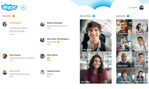 Skype for Windows 8 to Launch on October 26 with New Features and New Look