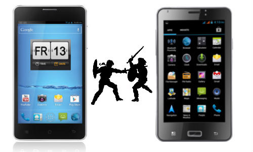 Spice Stellar Horizon Mi-500 vs iBall Andi 5c: Which Budget Android Phablet is Worth a Purchase?