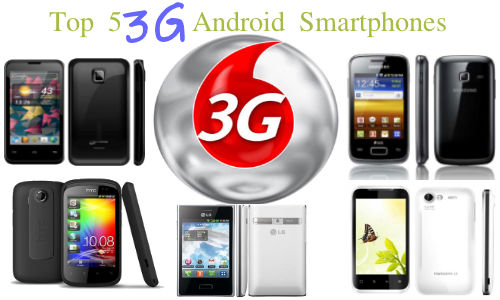 Top 5 3G Android Smartphones Below Rs 10,000 Available Under Special Deals