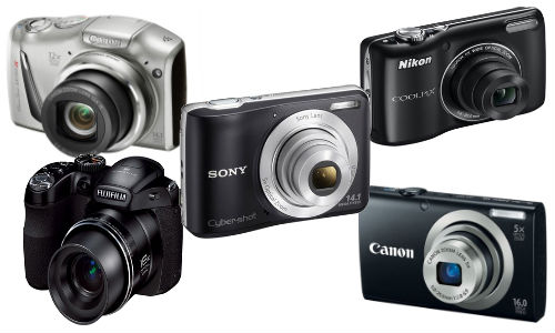 Top 5 Best Selling Digital Cameras Under Rs 10,000 Price Tag
