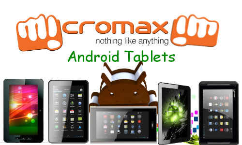 Top 5 Latest Micromax Android ICS Tablets Below Rs 10,000 Price Tag