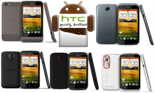 Top 5 Hottest Selling HTC Android ICS Smartphones