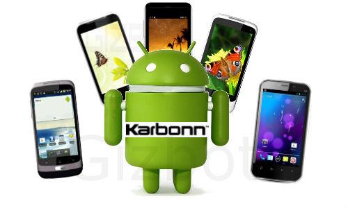Top 5 Karbonn Android Smartphones under Rs 10,000