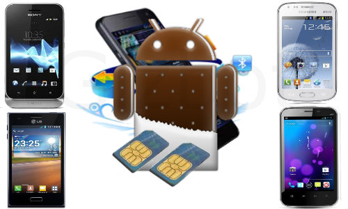 Top 5 Latest Dual SIM Android ICS Smartphones