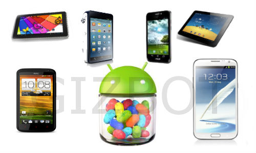 Top 6 Android 4.1 Jelly Bean OS Devices Launched in 2012 So Far