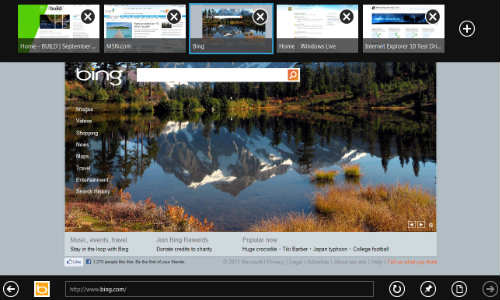 Microsoft recommends Internet Explorer 10 Browser for Windows 8