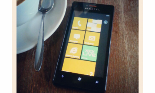 Alcatel One Touch Windows Phone 7.8 Handset gets Leaked Online