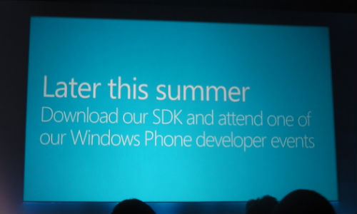 Microsoft Launches Windows Phone 8 SDK for Developers