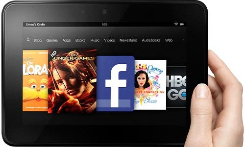 Amazon Kindle Fire HD Tablet Tops the Best Seller List on Amazon store