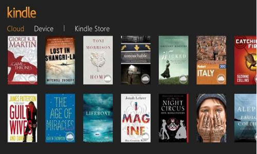 Amazon Unveils Kindle App for Windows 8 with Caption 'Buy Once Read Everywhere'