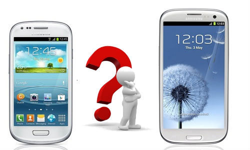 Samsung Galaxy S3 Mini vs Galaxy S3: Which is a Smarter Purchase?