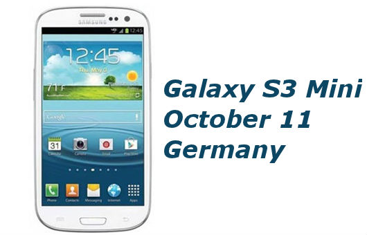 Samsung Executive Confirms Galaxy S3 Mini Launch on October 11