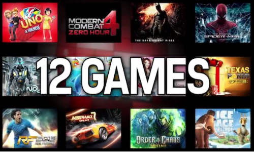Windows Phone 8: Gameloft Brings 12 Big Titles to Xbox for WP8 Devices