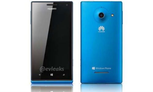 Ascend W1: Huawei Windows Phone 8 Handset Official Press Photo Gets Leaked Online