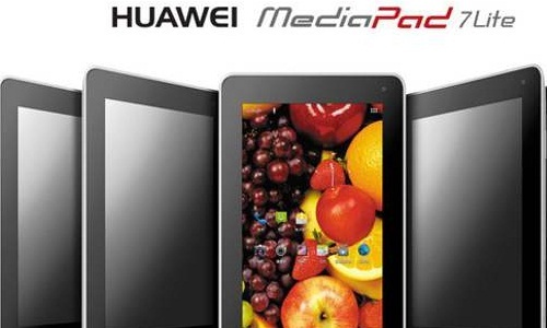 Huawei MediaPad 7 Lite Android Tablet Up On Pre Order in India at Rs 13,700