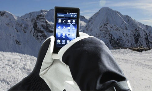Sony Xperia sola ICS Update: Glove Mode Feature Enabled for Use in Cold Climate
