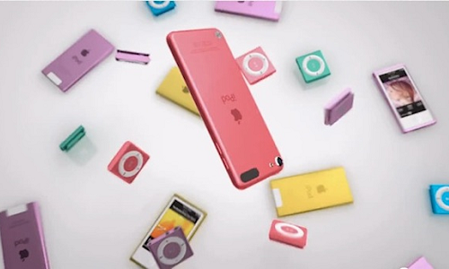 Bounce: Apple iPod Lineup New Ad Campaign