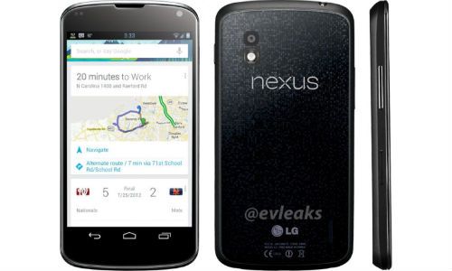 LG Nexus 4: Image and Benchmark Leak Reveals Android 4.2 on Cards