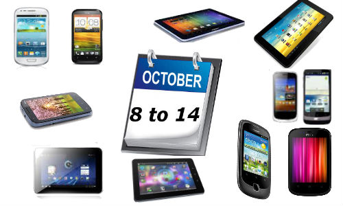 List of Smartphones and Tablets Launched For the Week Ending October 14
