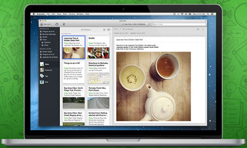 Evernote 5 for Mac Announced to be Coming Soon with 100 New Features and OS X Style UI