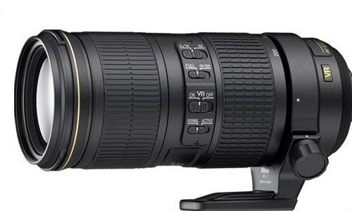 Nikon Introduces Telephoto Zoom Lens AF-S NIKKOR 70-200mm f/4G ED VR