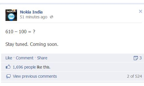 Nokia to Release Lumia 510 in India on October 23