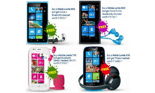 Nokia Mobile Diwali Offer: Get Free Bluetooth Headsets with Lumia 900, 800, 710