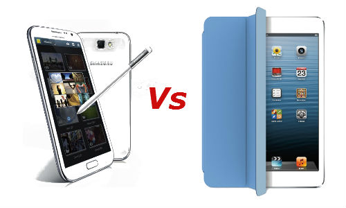 Apple iPad Mini vs Samsung Galaxy Note 2: Which One Will You Buy?
