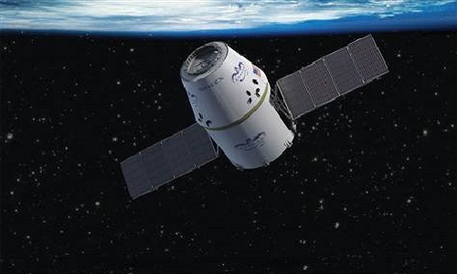 Space X Dragon LaunchesForInternational Space Station