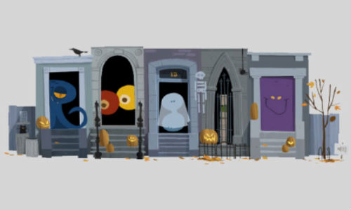 Happy Halloween: Google Scaring Users with An Interactive Haunted House Doodle