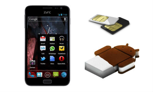 Zync Cloud Z5: Another 5 Inch Dual SIM Smartphone Released in India at Rs 9,490